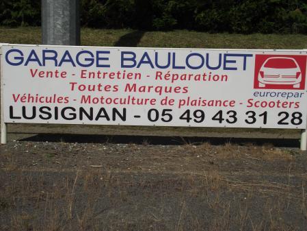 Garage baulouet